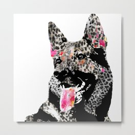 axel the german shepherd Metal Print