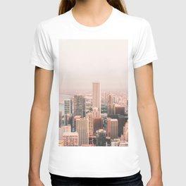 CHICAGO CITY SUNSET T-shirt