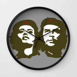 Che Guevara and the woman he loved Wall Clock