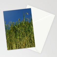 Looking up at Rice Field en route to Ghorepani Stationery Cards
