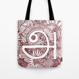 A in Tamil Tote Bag
