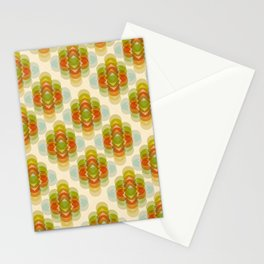 60's Pattern Stationery Cards