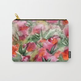 Flowers in the corner Carry-All Pouch