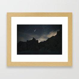 Joshua Tree Night Sky Framed Art Print