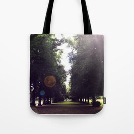 The Tree-Lined Path Tote Bag