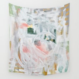 Emerging Abstact Wall Tapestry