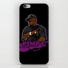 Chad 'Pimp C' Butler iPhone & iPod Skin