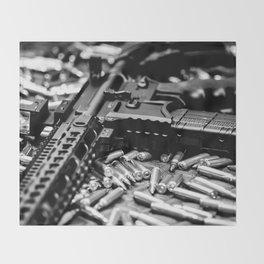 AR-15 Rifle Throw Blanket