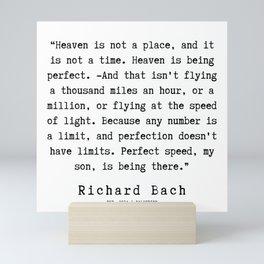 73  | Richard Bach Quotes | 190916 Mini Art Print