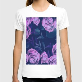 Floating roses with petals T-shirt