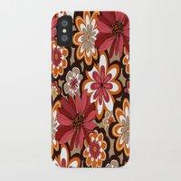 flower pattern iPhone & iPod Cases featuring Flower Pattern by Eduardo Doreni