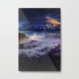 Distant Worlds Metal Print