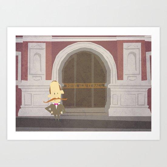 Royal Albert Small Art Print