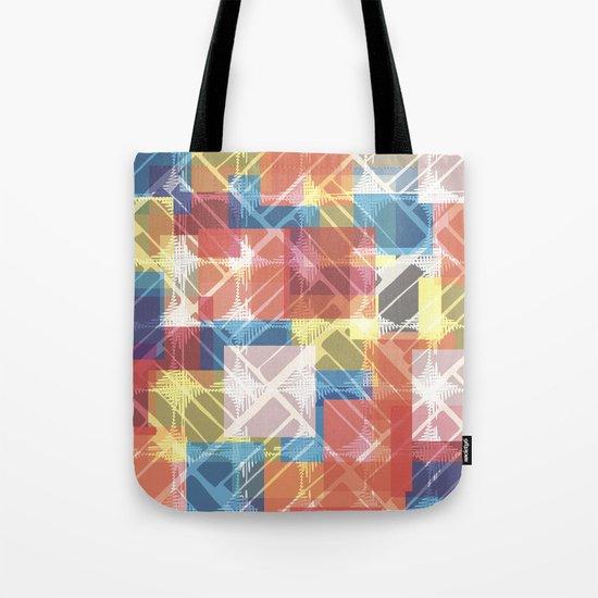squares n holes... Tote Bag