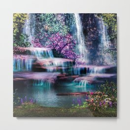 Fantasy Forest Metal Print
