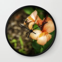 Bee's party Wall Clock