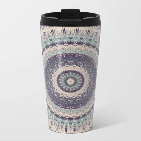 Mandala 275 Metal Travel Mug