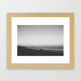 engage. Framed Art Print