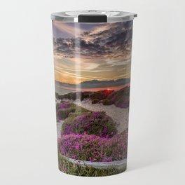 Headon Hill Sunset Isle Of Wight Travel Mug