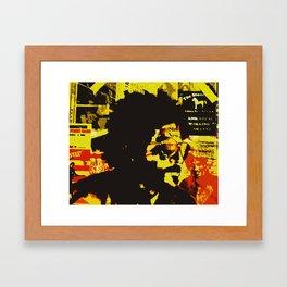 The Boss Framed Art Print