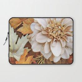 Autumn's Floral Laptop Sleeve