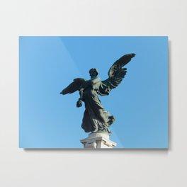 Castel Sant'Angelo Angel Metal Print