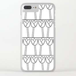 Lots of Tulips Clear iPhone Case
