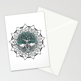 Gate and Key 13 Sign Astrology Stationery Cards