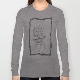 boat castle hat Long Sleeve T-shirt