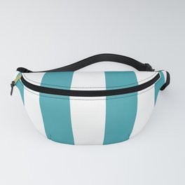 Big Lines Turquoise Fanny Pack