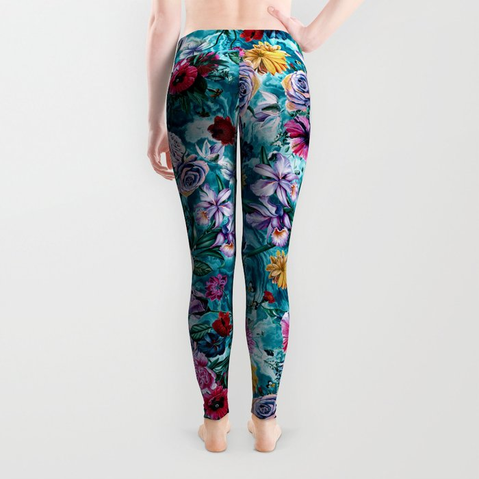 RPE FLORAL OCEAN Leggings