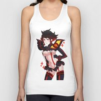 kill la kill Tank Tops featuring Kill La Kill by Pachiiri