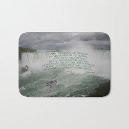 God is our Refuge Bath Mat