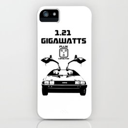 Delorean - Back to the future iPhone Case