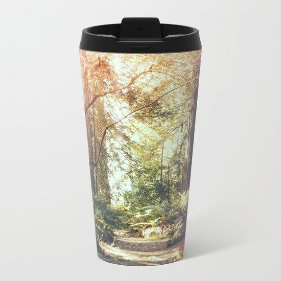 Beautiful California Redwoods Metal Travel Mug