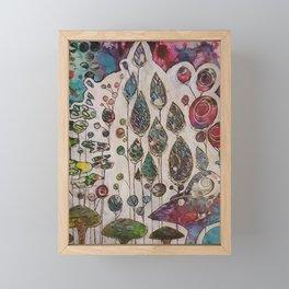 Behind the Veil Framed Mini Art Print