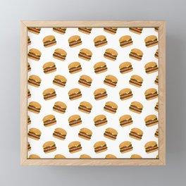 Burgers Framed Mini Art Print