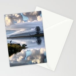 Blue Heron on Tillamook Bay Stationery Cards