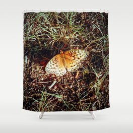 Just A Plain Ole' Butterfly Shower Curtain