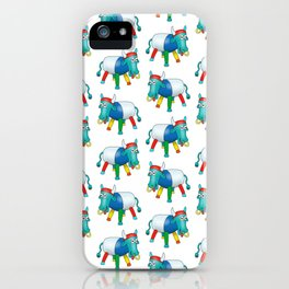 Steel Drum Colourful cow. iPhone Case