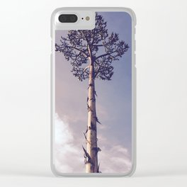 Looking Up Clear iPhone Case