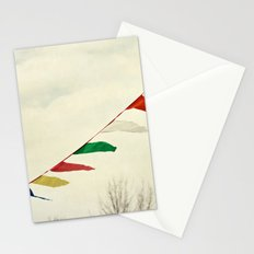 winter happiness Stationery Cards