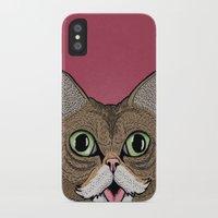 lil bub iPhone & iPod Cases featuring 'Lil Bub by Sydney Emery