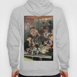 Renoir's Luncheon of the Boating Party & Grease Hoody