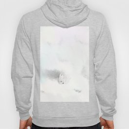 Rabbit In A Snowstorm Hoody