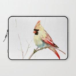 Northern Cardinal (female Cardinal bird) Laptop Sleeve