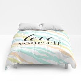 Love Yourself Comforters
