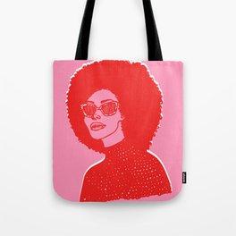 Kara Pink Tote Bag