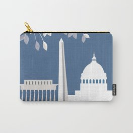 Washington, D.C. - Skyline Illustration by Loose Petals Carry-All Pouch