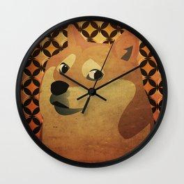 Doge Wall Clock